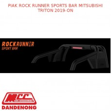 PIAK ROCK RUNNER SPORTS BAR FITS MITSUBISHI TRITON 2019-ON